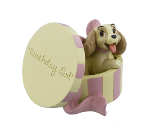 Figurine: Lady 'Birthday Girl'