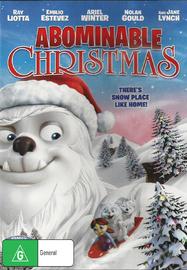 Abominable Christmas on DVD