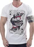 Street Fighter Ken of Clubs T-shirt (Small)