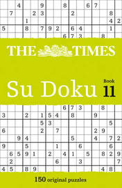 The Times Su Doku Book 11 by Puzzler Media