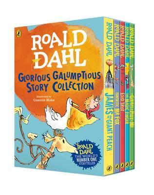 Roald Dahl's Glorious Galumptious Story Collection by Roald Dahl image