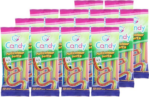 Nowco: Candy Multicolour Belts 100g (14pk)