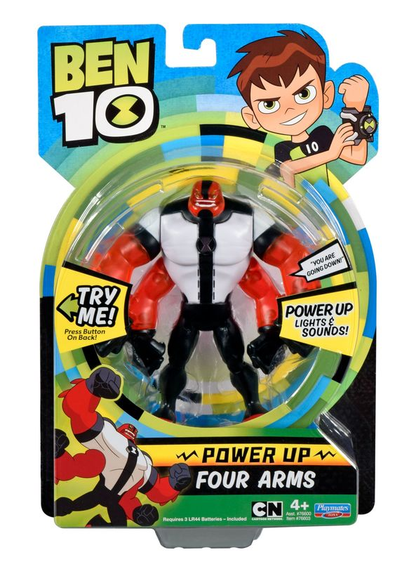 Ben 10: Power Up Deluxe Figures - Four Arms