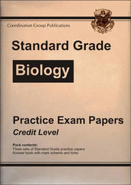 Standard Grade Biology Practice Papers - Credit Level by CGP Books image