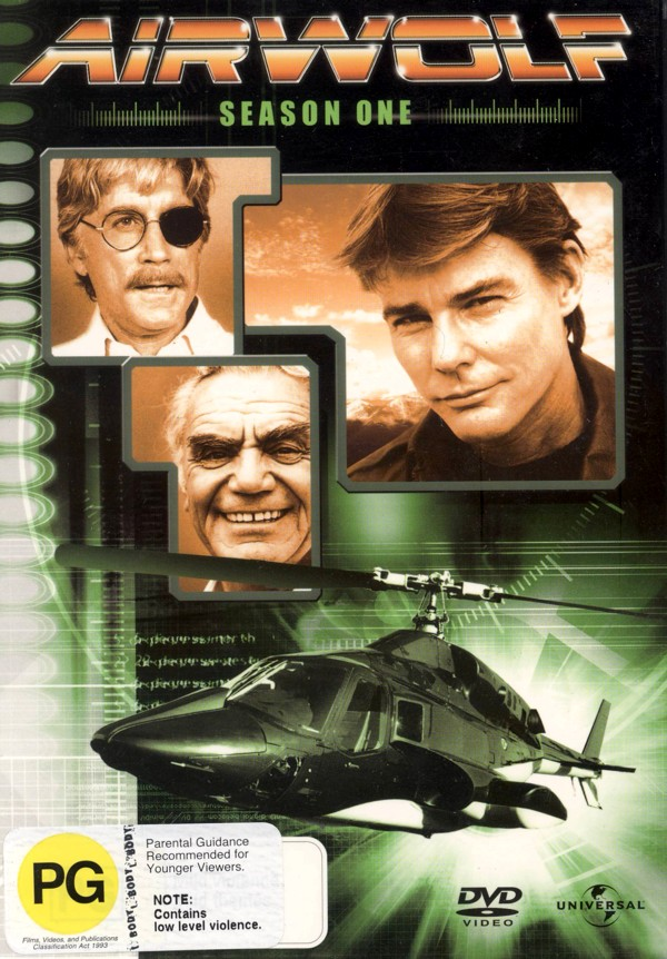 Airwolf - Season 1 (4 Disc Set) on DVD image