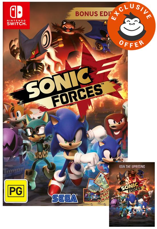 Sonic Forces Bonus Edition for Nintendo Switch