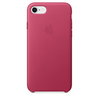 iPhone 8 Leather Case - Pink Fuchsia