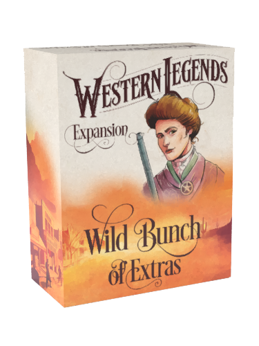 Western Legends: Wild Bunch of Extras - Game Expansion