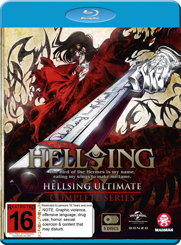 Hellsing: Ultimate - Complete Series on Blu-ray