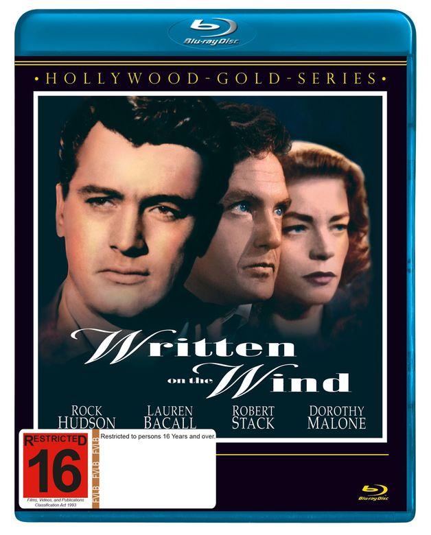 Written on the Wind on Blu-ray