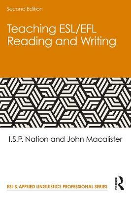 Teaching ESL/EFL Reading and Writing by I.S.P. Nation
