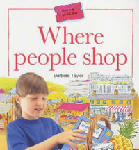 Where People Shop by Barbara Taylor