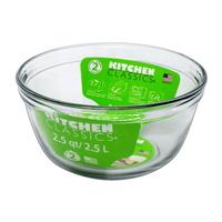 Glass Mixing Bowl - 2.5 Ltr