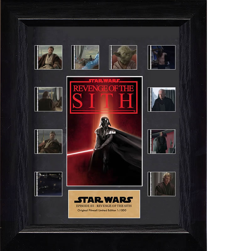 FilmCells: Mini-Montage Frame - Star Wars (Revenge Of The Sith) image