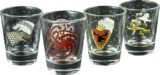 Game of Thrones - House Sigil Shot Glass Set of 4
