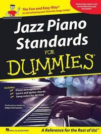 Jazz Piano Standards for Dummies by Hal Leonard Publishing Corporation