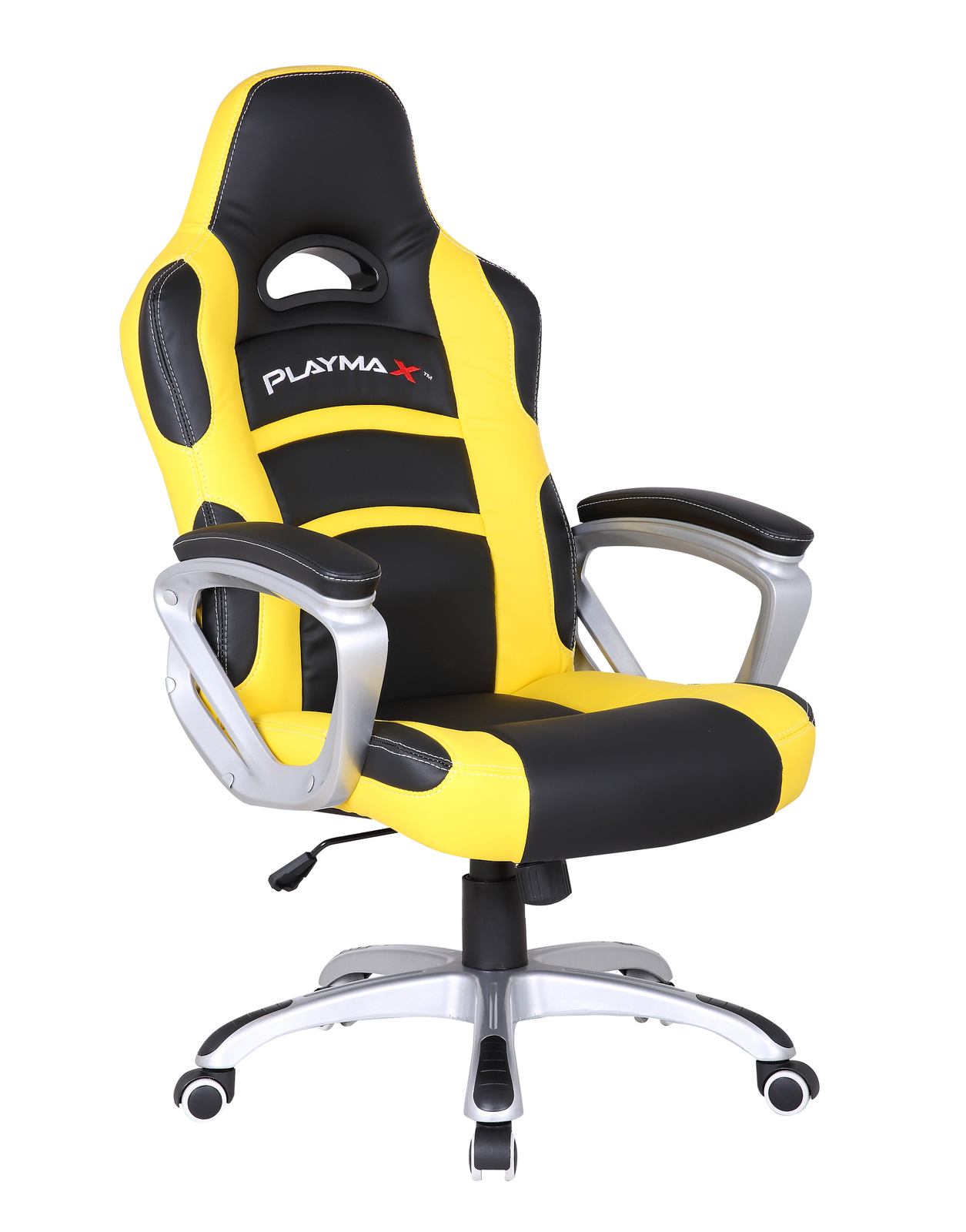 Playmax Gaming Chair Yellow and Black Buy Now