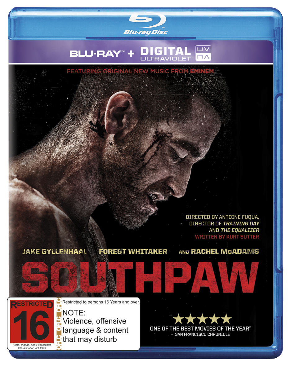 Southpaw on Blu-ray image