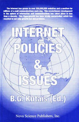 Internet Policies & Issues, Volume 1 by B.G. Kutais