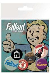 Fallout: Classic - Pin Badge Set