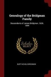 Genealogy of the Bridgman Family by Burt Nichols Bridgman image
