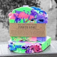 The Crafty Chook Party Girl Soap