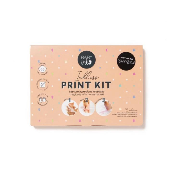 Baby Ink: Inkless Printing Kit - Black image