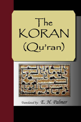 The Koran (Qu'ran) by E.H. Palmer image