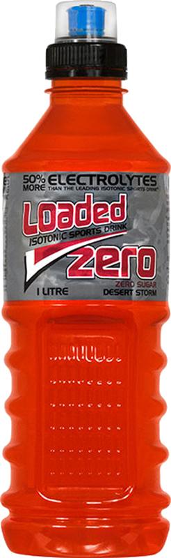 Loaded Sports Drink - Zero Desert Storm 1L (12 Pack)