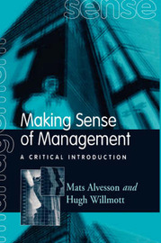 Making Sense of Management: A Critical Introduction by Mats Alvesson image
