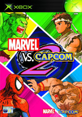 Marvel Vs Capcom 2 for Xbox