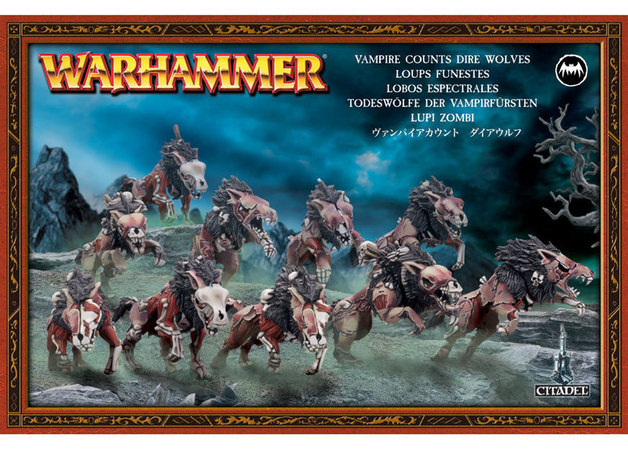 Image result for dire wolves age of sigmar box
