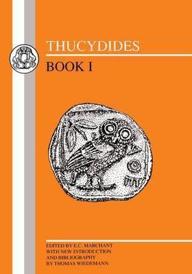 Thucydides: Bk.1 by . Thucydides