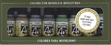 Vallejo WWII RAF Day Fighters Paint Set