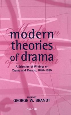 Modern Theories of Drama