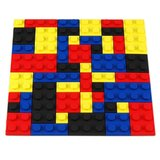 Lego Style Bricks PVC Coaster