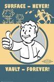 Fallout 4 Poster - Vault Forever (516)