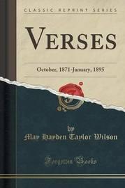 Verses by May Hayden Taylor Wilson image