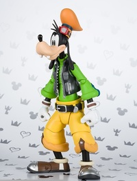 S.H.Figuart Kingdom Hearts II: Goofy -Actions Figure