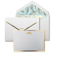 Alice Pleasance Correspondence Cards - Feather