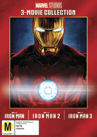 Iron Man: 3 Movie Collection on DVD