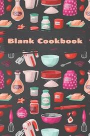 Blank Cookbook by Alison Blankett