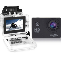Ape Basics: 1080P Waterproof Action Camera - Black image