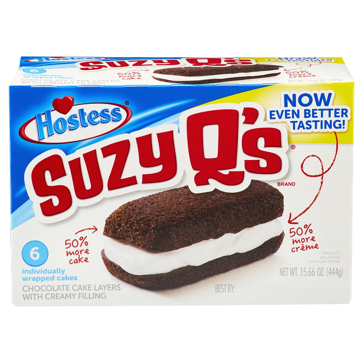 Hostess Suzy Q's (6 Pack) image