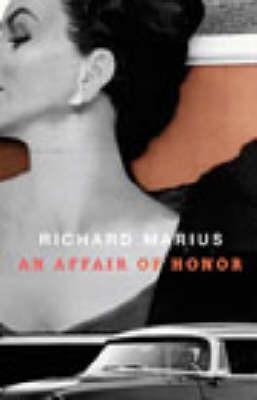 An Affair of Honor by Richard Marius image