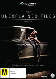 The Unexplained Files Season 1 DVD