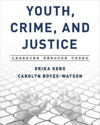 Youth, Crime, and Justice by Erika Gebo image