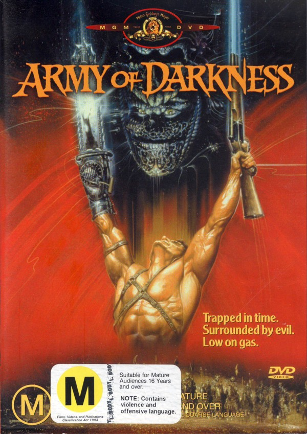 Army Of Darkness on DVD image