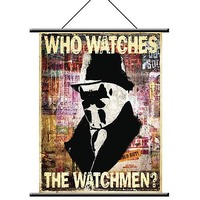Watchmen Rorschach Wall Scroll image
