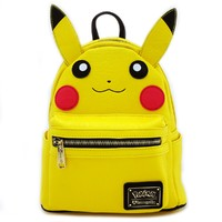 Loungefly: Pokemon Pikachu Face - Mini Backpack